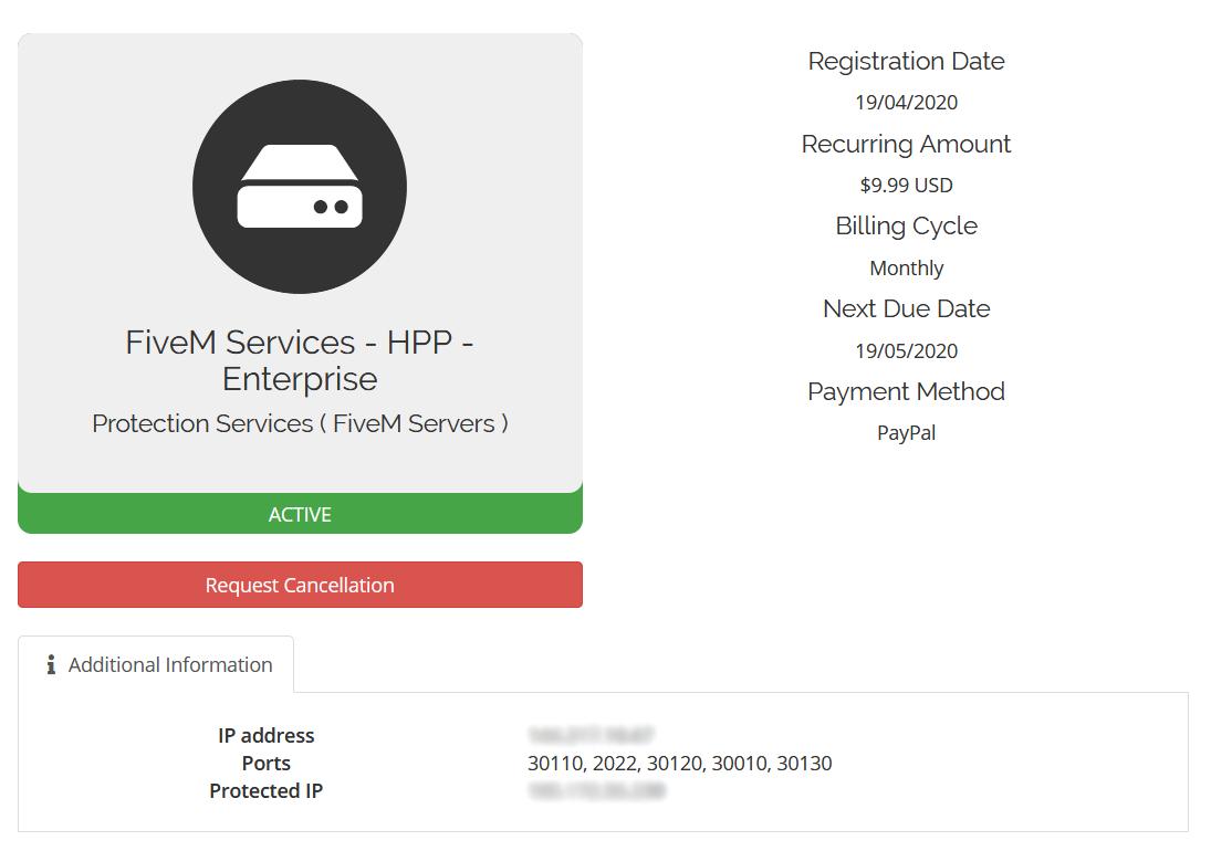 FiveM DDoS Protection Service, SecureAttack.com